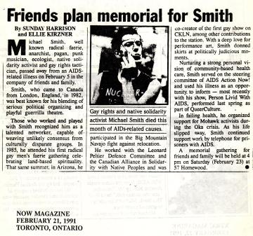 michael smith memorial