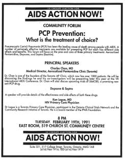 PCP Prevention Community Forum Poster
